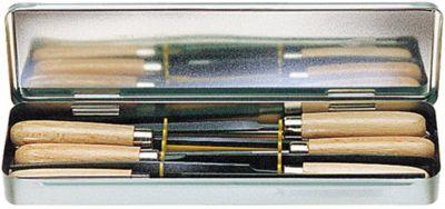 Schlüsselfeilen 6-teilig 100 mm Hieb 2