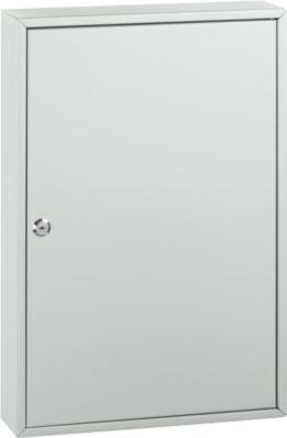 Schlüsselkasten TS100, für 100 Schlüssel, lichtgrau/lichtgrau