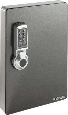 Schlüsselschrank, Elektronikschloss, 141 Haken, anthrazit