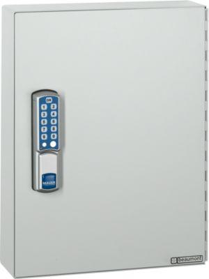 Schlüsselschrank ELO, mit 50 Haken, mit gesicherten Haken, Elektroschloss