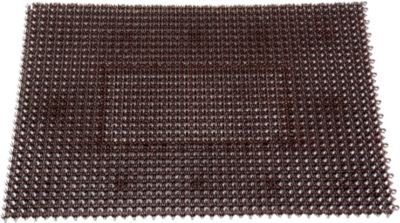 Schmutzfangmatte Step In, aus Polyethylen, für Innen und Außen, 570 x 860 mm, braun