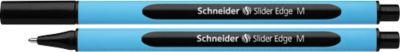 Schneider Balpennen Slider Edge M, zwart, 10 stuks