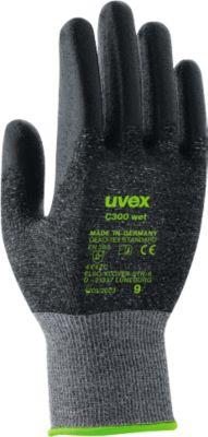Schnittschutzhandschuh uvex C300 wet, Gr. 7