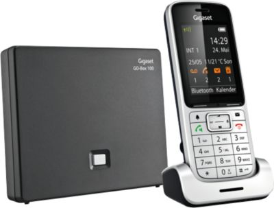 Schnurlos-Telefon Gigaset SL450A GO, mit Anrufbeantworter, mit Headset-Anschluss