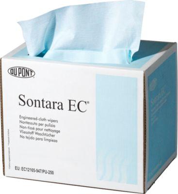 Schoonmaakdoekjes Sontara EC crêpe turquoise box