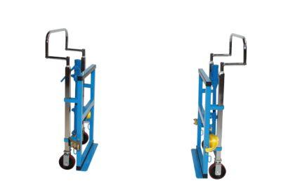 Schoonmaaktrolley, met 2 houders voor vuilniszakken van 120 liter