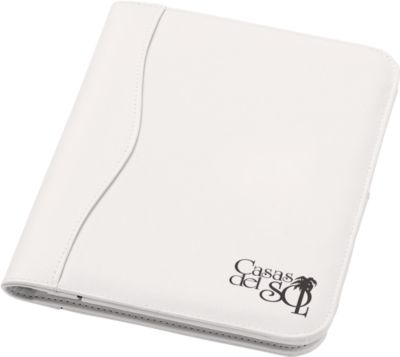 Schreibmappe Ebony, A5, weiß
