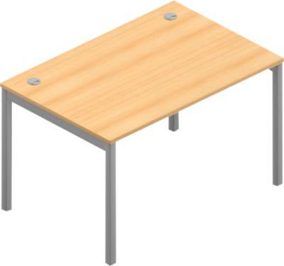 Schreibtisch ARLON-OFFICE, B 1200 x T 800 x H 730 mm, Buche-Dekor