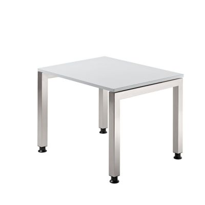 Schreibtisch, B 800 mm, lichtgrau