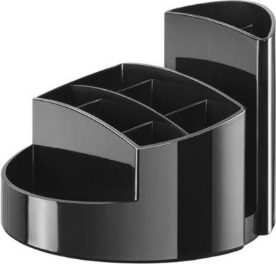 Schreibtisch-Köcher RONDO, schwarz