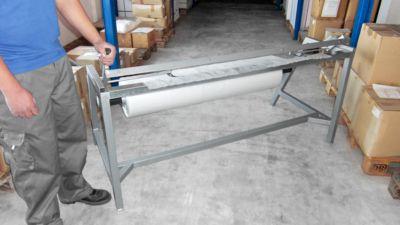 Schrumpfhauben-Konfektionierer, Folienbreite max. 1400 mm