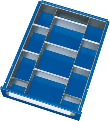 Schubladen Einteilungs-Set 2-9, 120-180 mm