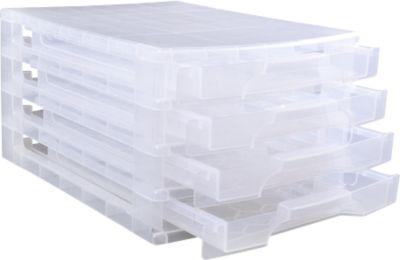 Schubladenbox 5x12 transparent