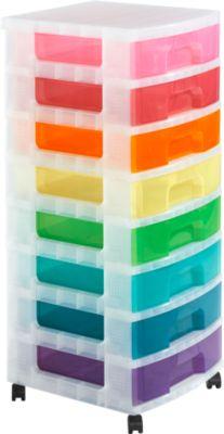 Schubladenbox 8x9 Rainbow