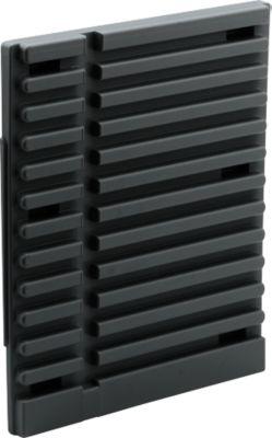 Schubladenhalter, schwarz, leitfähig