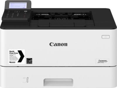 Schwarzweiß Laserdrucker Canon i-SENSYS LBP214dw, 1200 x 1200 dpi, 38 S./min, Duplexdruck, hellgrau