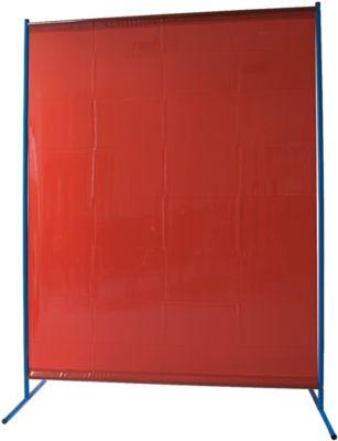 Schweisserschutzwand, Folie, rot