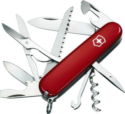 Schweizer Messer Huntsman, rot