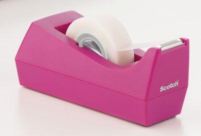Scotch® Tischabroller Pink