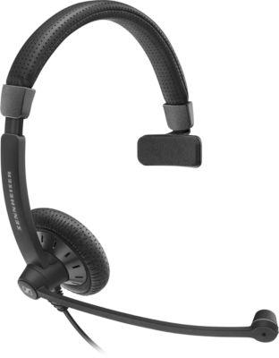 Sennheiser Headset SC 45, 3,5 mm Klinkenstecker, kabelgebunden, einseitig