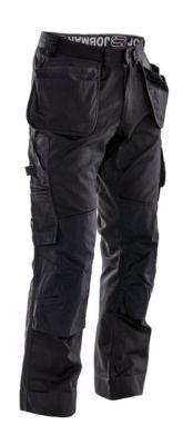 Service Hose mit Hängetaschen schwarz D112
