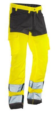 Servicehose HiVis gelb/schwarz C146