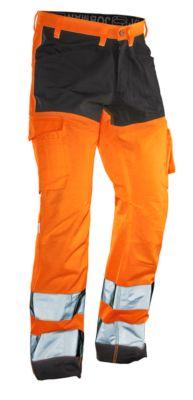 Servicehose HiVis orange/schwarz C146