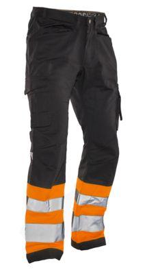 Servicehose HiVis schwarz/orange C146