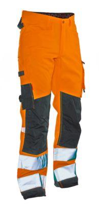 Servicehose Star HiVis orange/schwarz C146