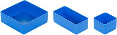 Set inzetbakken, 54-dlg., blauw