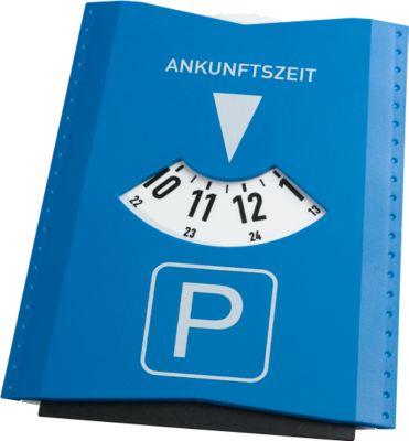 SET Parkscheibe, 50 Stück, inkl. 1-farbigem Druck