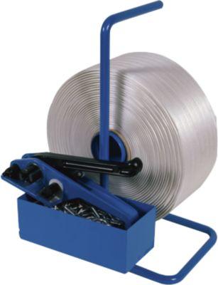 SET Polyester band Omsnoering + 500 sluitclips + 500 sluitclips