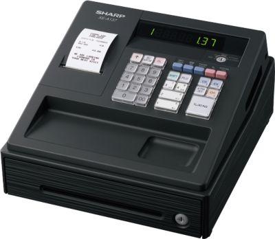 SHARP® Elektronische Registrierkasse XE-A137, GoBD/GDPdU-konform, schwarz