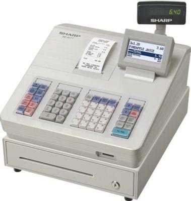 Sharp Elektronische Registrierkasse XE-A177WH, GoBD/GDPdU-konform