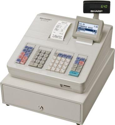 Sharp Elektronische Registrierkasse XE-A207W, GoBD/GDPdU-konform