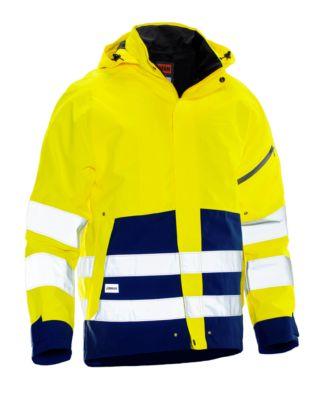 Shell Jacke HiVis gelb/marine 3XL