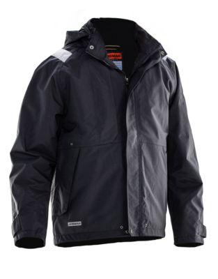 Shell Jacke schwarz 3XL