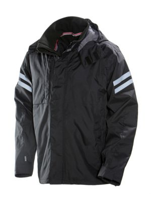 Shell Jacke schwarz L