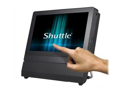 Shuttle XPC P2000PA - All-in-One (Komplettlösung) - Celeron 3865U 1.8 GHz - 4 GB - 120 GB - LED 29.5 cm (11.6