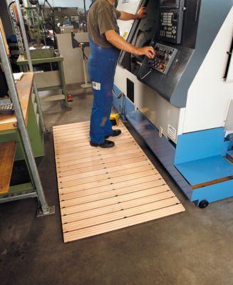 Sicherheits-Holzlaufrost, 1000 mm breit