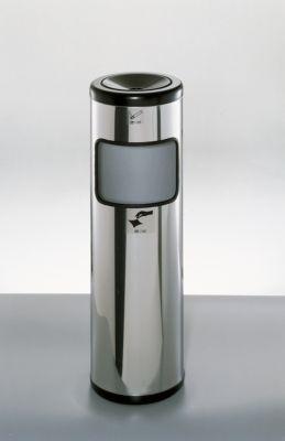 Sicherheits-Standascher, Edelstahl, ø 245 x H 810 mm