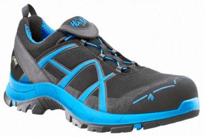 Sicherheitsschuh Haix Black Eagle Safety 40 Blue ESD, GORE-TEX®, schwarz/blau, Größe 35