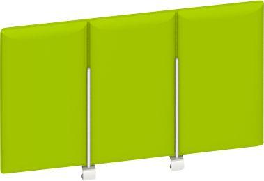 Sichtblende oben, grün, B 600 mm