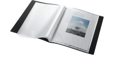 Sichtbuch mit Vortasche, für DIN A4, 60 Hüllen