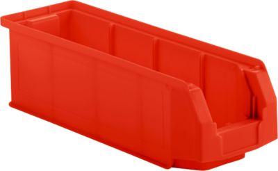Sichtlagerkasten LF 511, Kunststoff, 7,6 l, rot