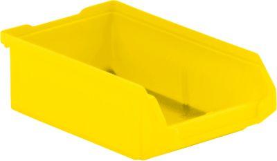 Sichtlagerkasten SSI Schäfer LF 210, Polypropylen, L 168 x B 103 x H 52 mm, 0,5 l, gelb