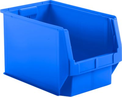 Sichtlagerkasten SSI Schäfer LF 533, Polypropylen, L 500 x B 312 x H 300 mm, 38 l, blau