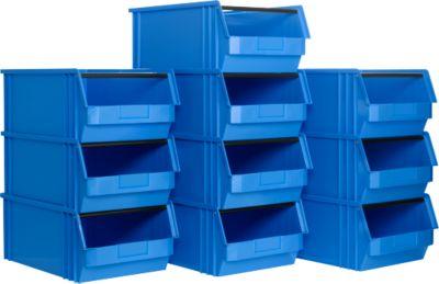 Sichtlagerkasten TF 14/7-2, Kunststoff, 10 Stück, 23 l