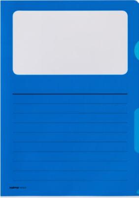 Sichtmappe Kolma Visa Dossier Script, CopyResistant Lisse, A4, 10 Stück, blau