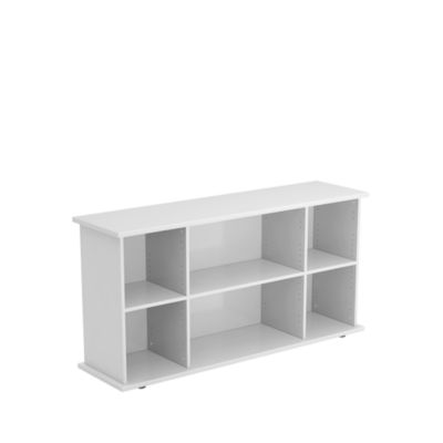 Sideboard, 1661 x 448 x 840 mm, lichtgrijs